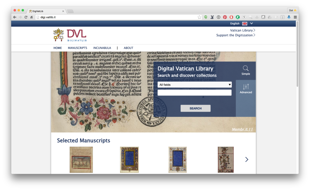 Vatican Digital Library.
