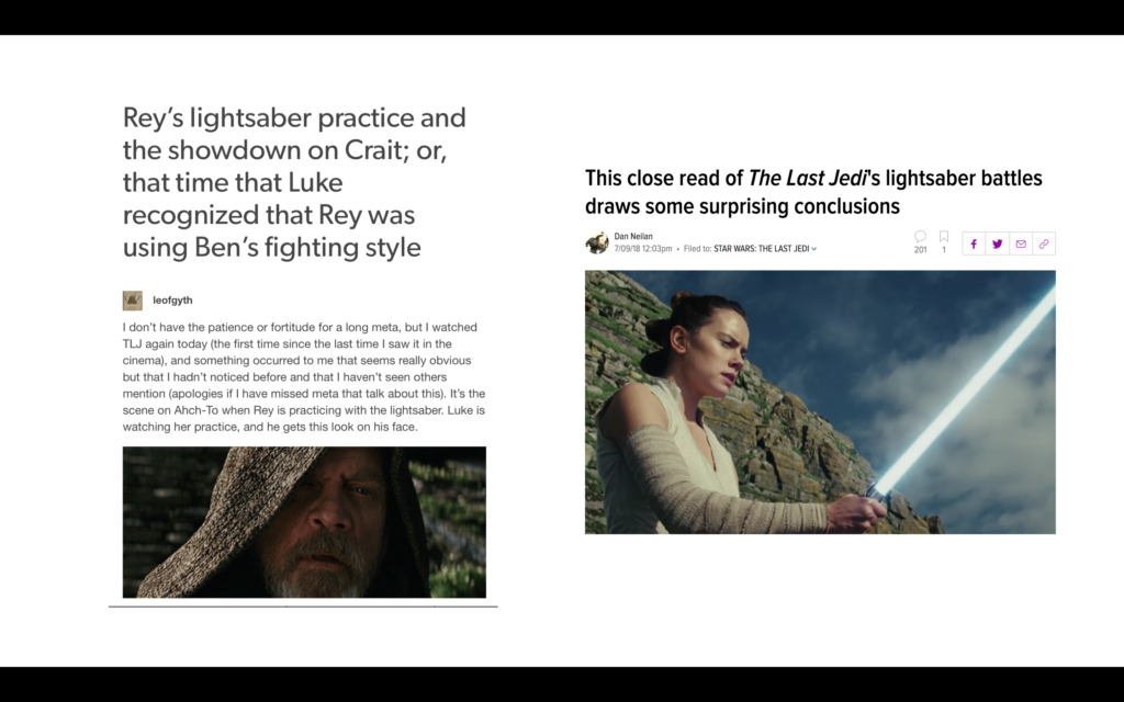 The Sacred Texts: Manuscripts in Star Wars and Star Wars Fanfiction